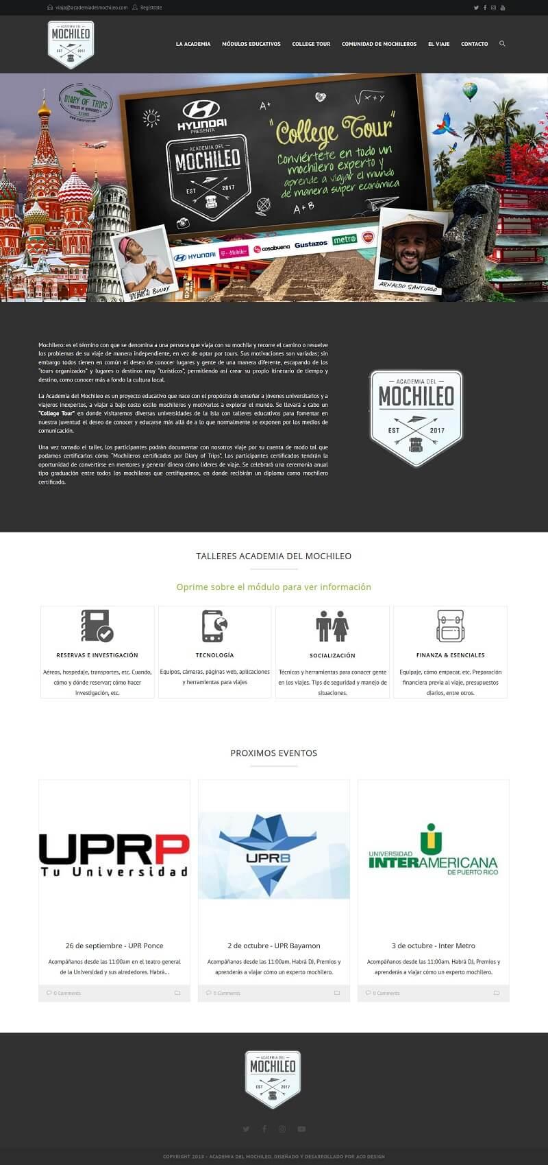 www.academiadelmochileo.com