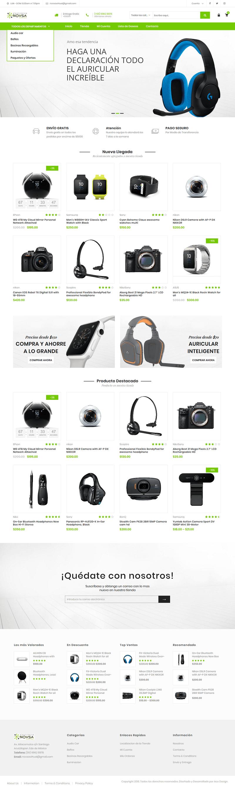 www.electronicanovsa.com