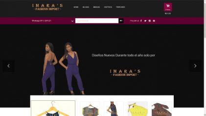 www.imarasfashion.com.ve