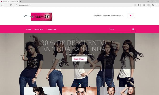 www.tiendasaco.com.ve